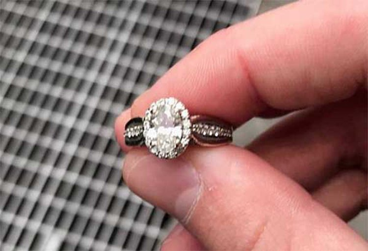 Not Again! NYPD Rescues Another Engagement Ring From Utility Grate in Midtown